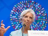Christine Lagardes Amtszeit als IWF-Chefin geht noch bis 2021.