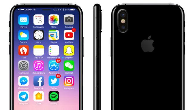 So könnte das iPhone 8 aussehen - denkt zumindest iDrop News.
