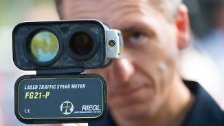 Autofahrer aufgepasst!: Polizei zieht beim Blitzmarathon Raser aus dem Verkehr