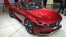 MG präsentiert den elektrifizierten Roadster.