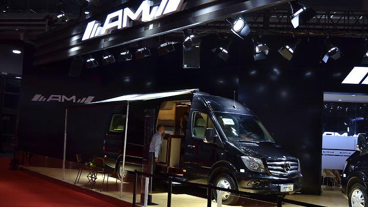 AMG tunt jetzt auch Wohnmobile? Ach nein, da fehlt das G. Die Firma heißt AM.