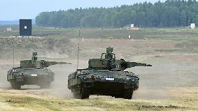 Heftige Kritik: Rheinmetall will Panzerfabrik in der Türkei bauen