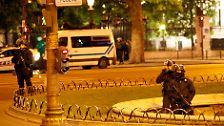 Polizist in Paris getötet: Terrorangriff auf dem Champs-Élysées?