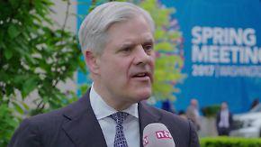"""Bundesbankvorstand Dombret im Interview: """"Eine strenge Bankenregulierung ist wichtig"""""""
