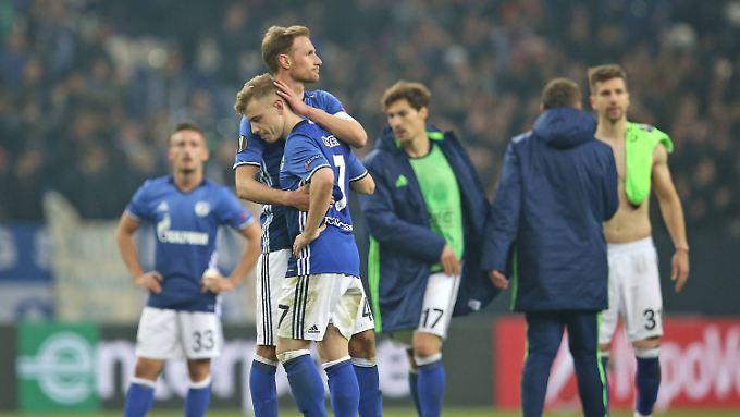 EL-Aus gegen Ajax Amsterdam: Schalke siegt und scheidet aus