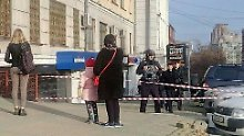 Nazi-Angriff in Russland?: Mann schießt in Geheimdienstbüro um sich
