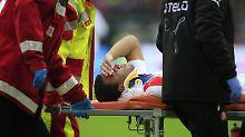 Halswirbelbruch gegen St. Pauli: Fortuna-Profi Akpoguma braucht keine OP