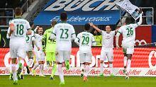 Viererpack gegen Ingolstadt: Kruses Tor-Gala lässt Bremen träumen