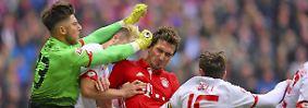 FC Bayern - FSV Mainz 2:2 (1:2)