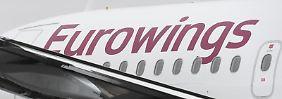 Flugzeug von Eurowings
