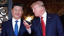 Zündet Nordkorea erneut Rakete?: Xi mahnt Trump zur Besonnenheit