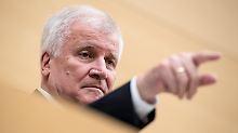 SPD wittert Betrug: Seehofer kündigt erneute CSU-Kandidatur an