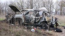 """Nach Tod eines OSZE-Beobachters: Ukraine behandelt Explosion wie """"Terrorakt"""""""