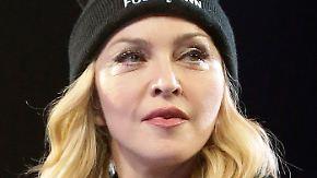 Promi-News des Tages: Madonna stoppt Unterhosen-Versteigerung