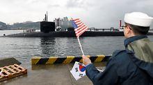 """""""Schicken sehr starke Armada"""": Trump sendet Atom-U-Boot nach Südkorea"""