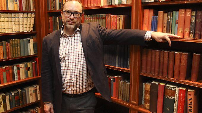 Will das Nachrichten-Geschäft retten: Jimmy Wales.