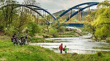 Immer am Wasser entlang: Schöne Flusswanderwege in Deutschland