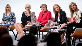 Lobrede auf Vater Trump: Trump neben Merkel und Lagarde auf W20-Gipfel zur Stärkung von Frauen