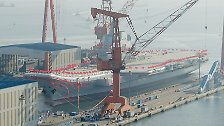 Pekings neuer Flugzeugträger: China zeigt seine militärischen Ambitionen