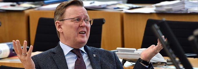Erfahren im Umgang mit knappen Mehrheiten: Bodo Ramelow, Ministerpräsident in Thüringen.