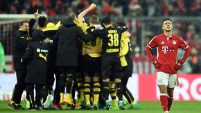 Nervenaufreibendes DFB-Pokal-Duell: BVB macht Bayerns Double-Traum zunichte