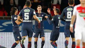 Schützenfest im Pokal-Halbfinale: Draxler und PSG führen Monaco vor
