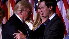 """""""Family first"""" im Weißen Haus: Trump verhilft Familienmitgliedern zu politischer Macht"""