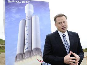Elon Musk ist die Welt nicht genug.