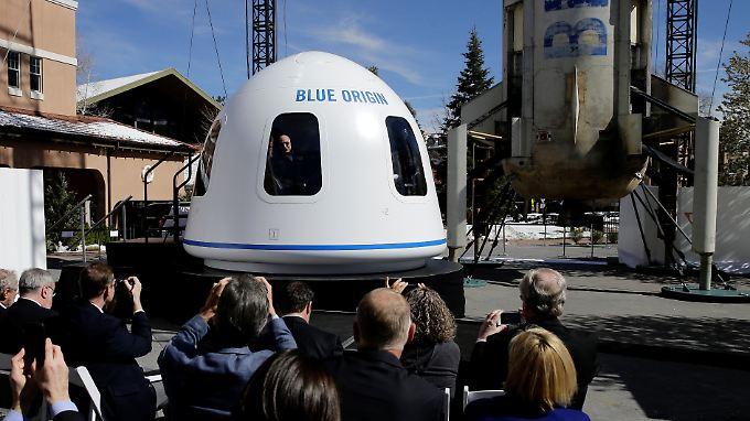 Amazon-Gründer Jeff Bezos ist mit seinem Raumfahrtunternehmen Blue Origin nur einer von vielen schwerreichen Luftfahrtpionieren der Neuzeit.