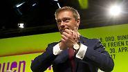 """""""Haben Chance auf Comeback"""": Lindner mit 91 Prozent zum FDP-Chef wiedergewählt"""