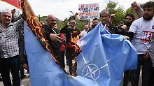 Häme aus Russland: Montenegro beschließt Nato-Beitritt