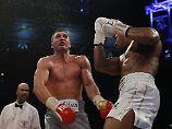 Trotz starker Leistung unterlag Wladimir Klitschko in seinem letzten Kampf gegen Anthony Joshua.