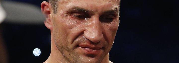 """Klitschko zur K.-o.- Niederlage: """"Es ist bitter und enttäuschend"""""""