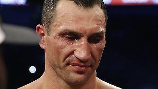 """Klitschko zur K.o.- Niederlage: """"Es ist bitter und enttäuschend"""""""