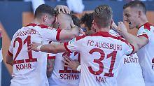 Negativtrend im Abstiegskampf: Hamburger SV geht in Augsburg unter