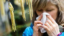 Folge des Klimawandels: Allergien und Asthma breiten sich aus