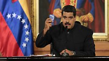 Opposition warnt vor Diktatur: Maduro kündigt neue Verfassung an