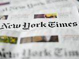 """Mehr Leser dank Trump: """"New York Times"""" ist erfolgreich wie nie"""