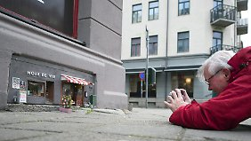 """Bäckerei und Restaurant für Mäuse: Die Kunstgruppe """"Anonymouse""""begeistert mit ihren Mini-Versionen an einer Straßenecke im Zentrum Malmös."""