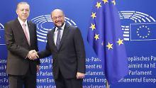 Todesstrafe als rote Linie: Schulz: Kein Referendum in Deutschland