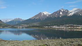 Ushuaia im Sommer.