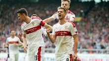 VfB-Torjäger schraubte gegen Aue sein Trefferkonto auf 23 Tore hoch.
