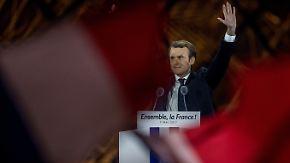 Finanzmärkte atmen auf: Macron schickt Dax auf kurzen Höhenflug