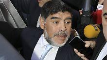Petrodollar locken in die Wüste: Provinzklub hofft auf Maradonas Klasse