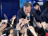 Sieger will auf Norden zugehen: Linker gewinnt Präsidentenwahl in Südkorea