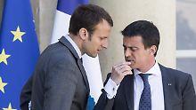 Sozialist unterstützt Bewegung: Ex-Premier Valls will für Macron antreten