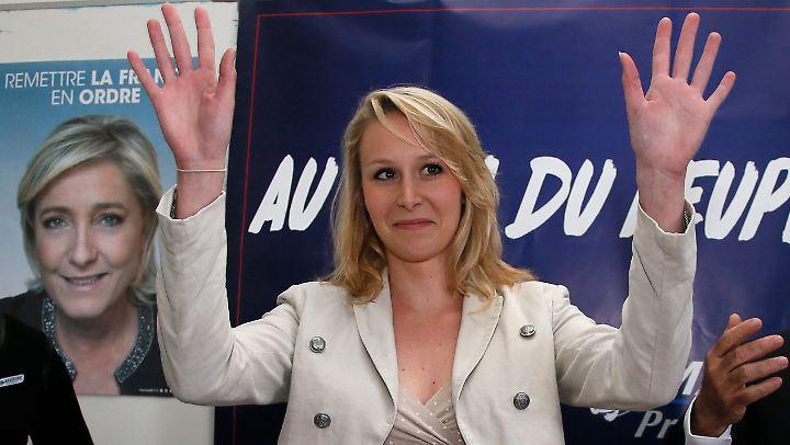Marion Maréchal-Le Pen ist die Oppositionschefin im Regionalrat Provence-Alpes-Côte d'Azur. Im Juni tritt sie aber nicht erneut zur Wahl an.