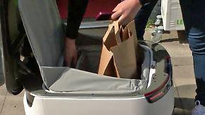 Zukunft der Lieferdienste?: Starship-Roboter liefert Essen in Hamburg aus