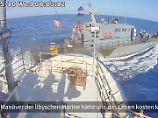 Zwischenfall im Mittelmeer: Seenothelfer geraten mit Marine aneinander