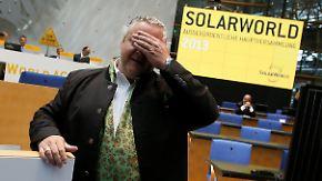Solar-Pionier vor dem Aus: Solarworld meldet Insolvenz an